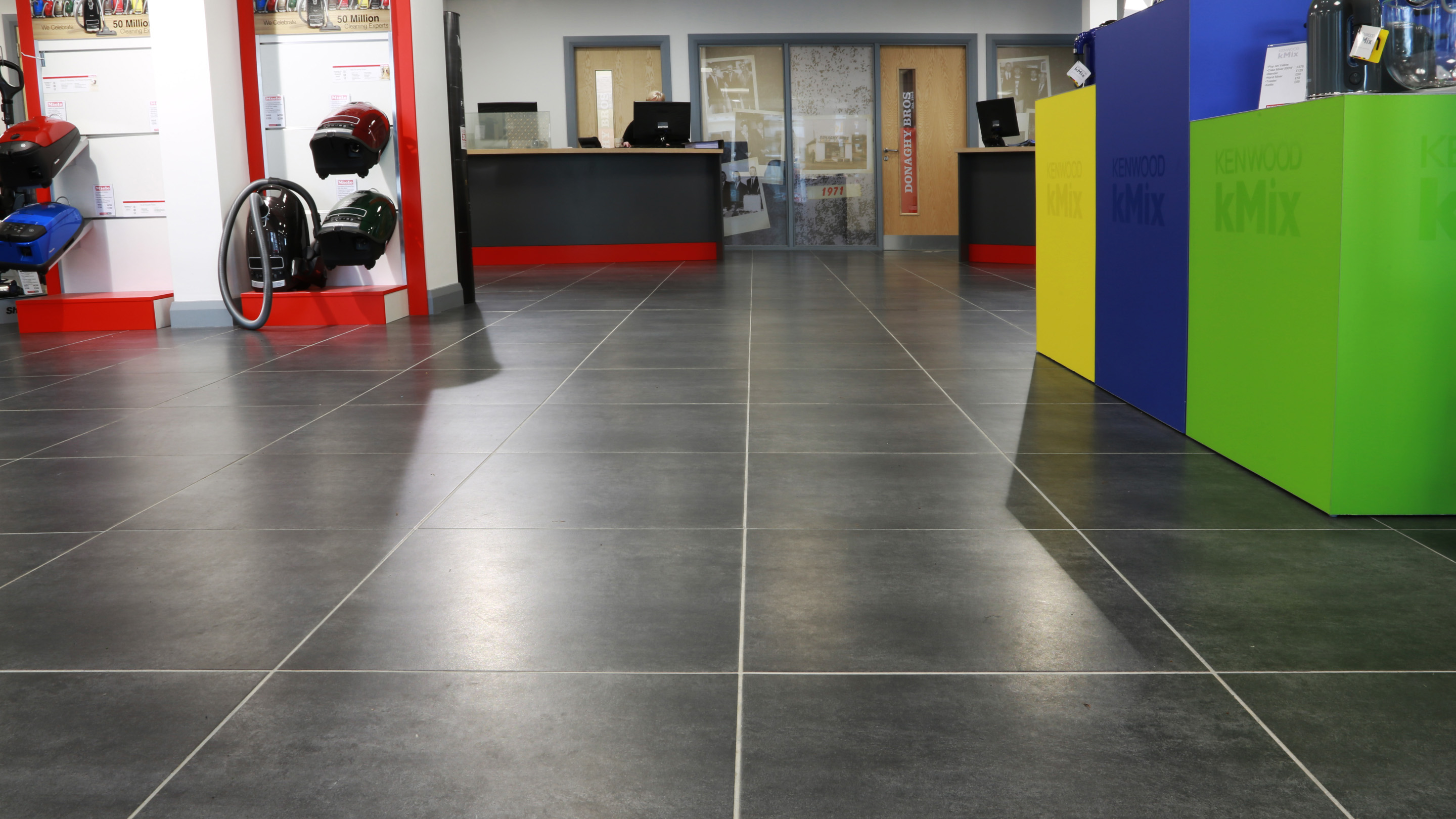 Donaghy Bros. Kilrea. TIles by mdc tiles and bathrooms Magherafelt.