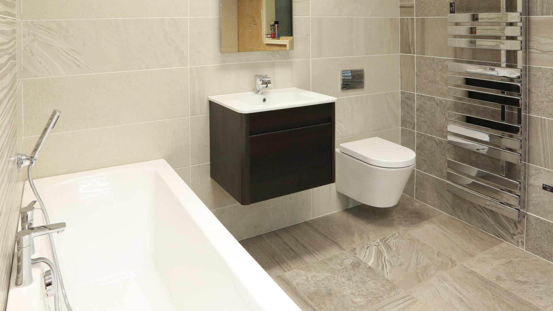 Elegant Karina39s House Project Bathroom Tile Selection