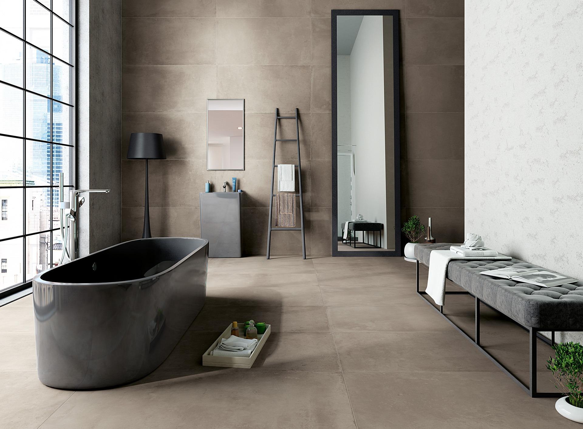 Castelvetro It Fusion Cemento Ambiente Tile Mdc Tiles