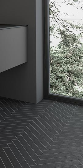 Floor tiles for bathrooms
