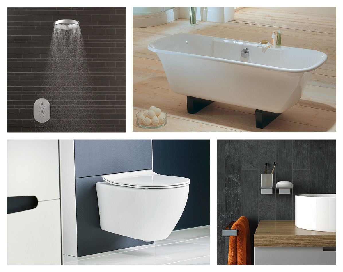 Sanitary ware and brassware