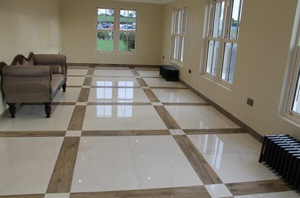 Tiled Sunroom