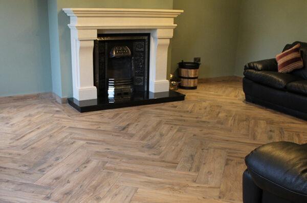 Tiled Living room