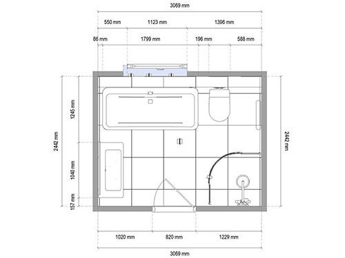 3D bathroom renovation